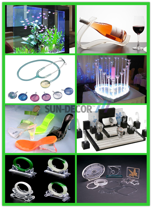 Acrylic craft boutiques