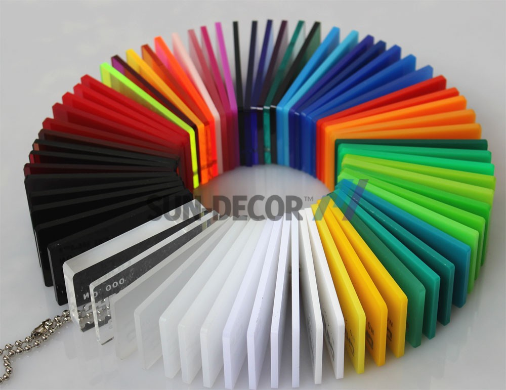 1.4-a-PMMA Sheet-Multi color property -various colors for choose-available